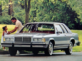 Mercury Grand Marquis LS 2-door Sedan 1987 photos