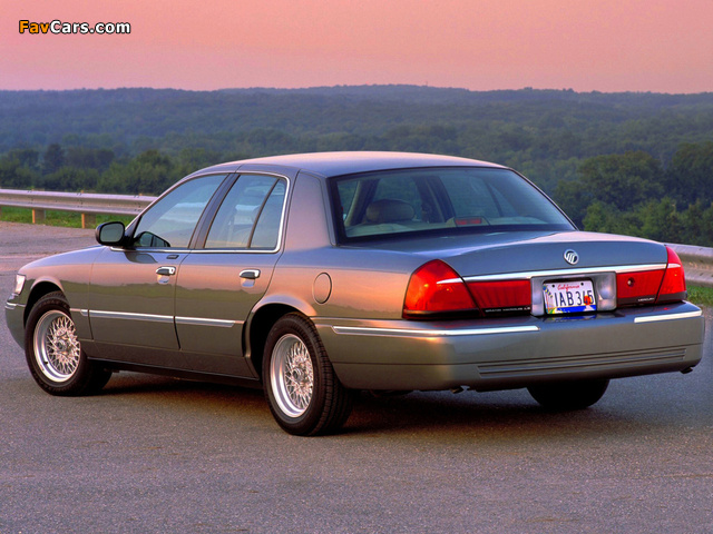 Mercury Grand Marquis 1998–2003 wallpapers (640 x 480)