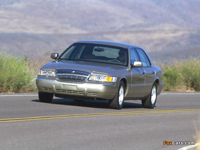 Mercury Grand Marquis 1998–2003 images (640 x 480)