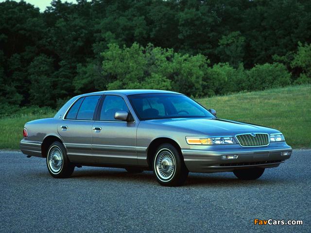 Photos of Mercury Grand Marquis 1995–97 (640 x 480)