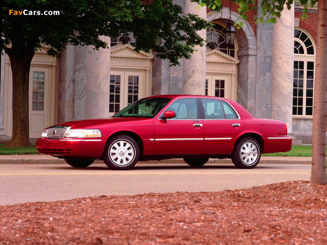 Pictures of Mercury Grand Marquis 2003–05 (640 x 480)