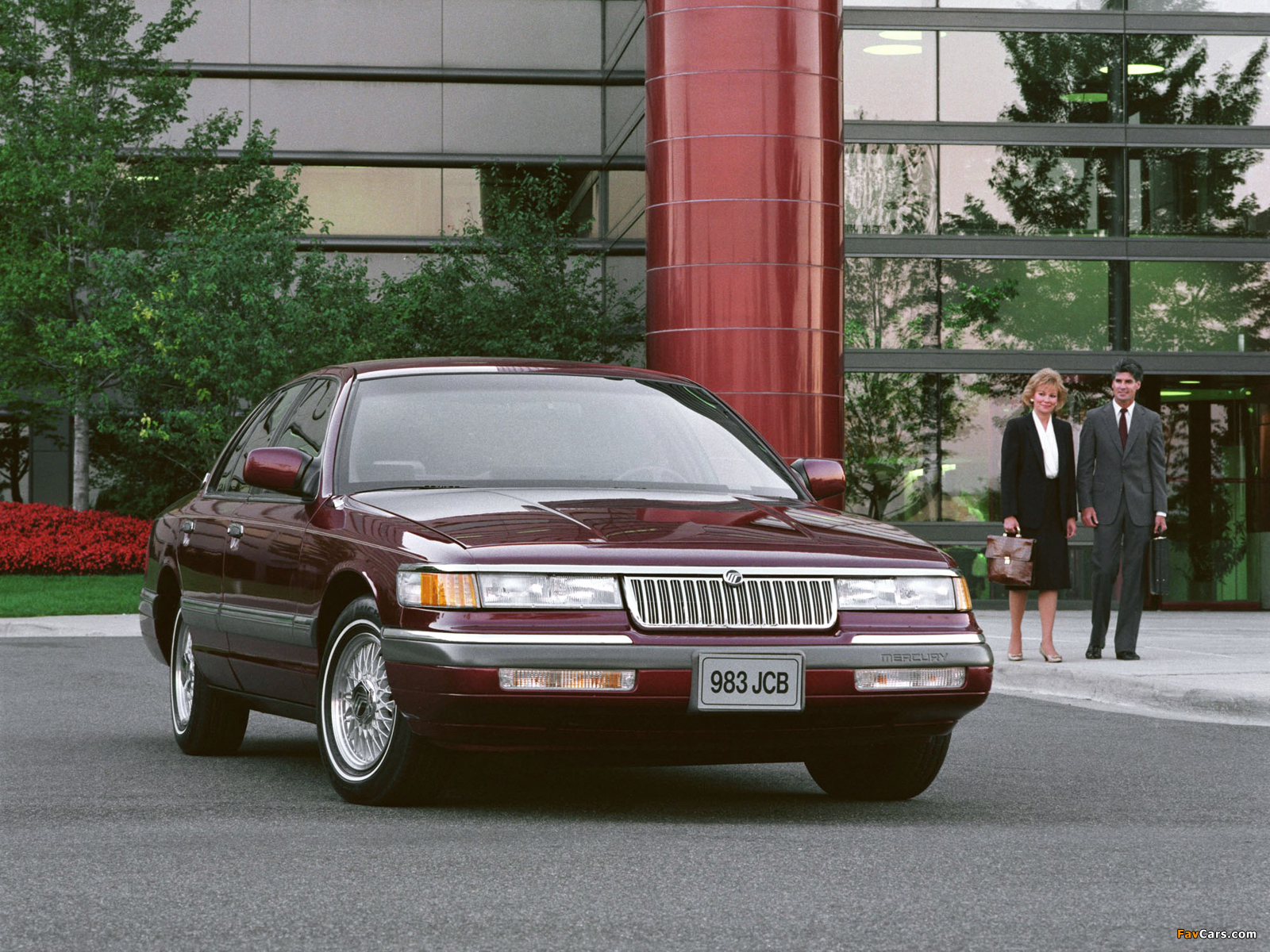 Mercury grand marquis 1992 95 wallpapers 1600 x 1200