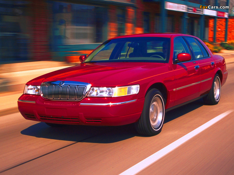 Mercury Grand Marquis 1998–2003 wallpapers (800 x 600)