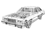 Mercury Grand Marquis 1983–87 wallpapers