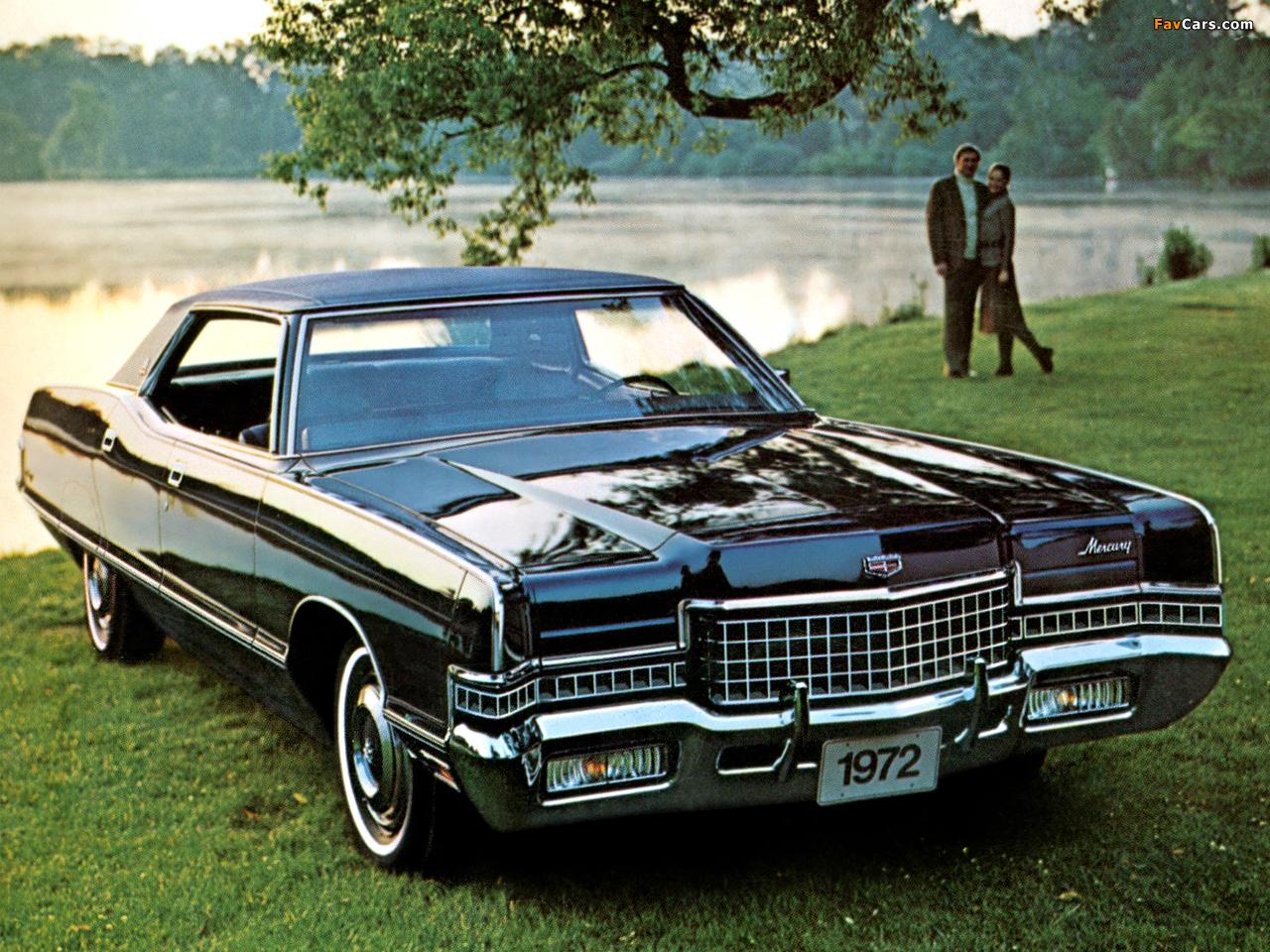 Mercury Marquis Brougham 4-door Hardtop 1972 images (1280 x 960)