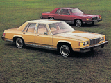 Mercury Marquis Brougham 4-door & 2-door Sedan 1982 images