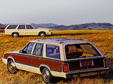 Mercury Marquis Station Wagon 1985 images