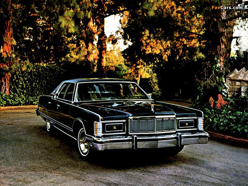 Mercury Marquis 4-door Hardtop 1973–78 wallpapers (800 x 600)