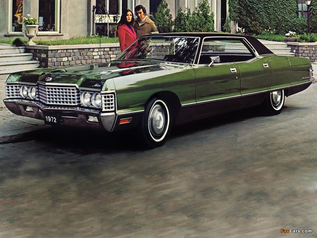 Pictures of Mercury Meteor Montcalm 4-door Hardtop 1972 (1024 x 768)