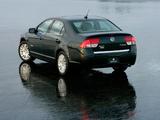 Pictures of Mercury Milan Hybrid 2009–10
