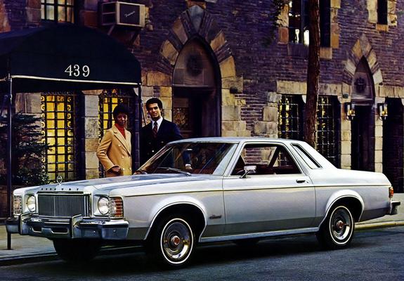 & Mercury Monarch 2-door Sedan 1975u201376 pictures