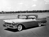 Photos of Mercury Montclair Hardtop Sedan (57B) 1957