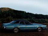 Mercury Montego 4-door Pillared Hardtop 1973 pictures