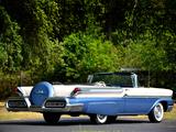 Mercury Monterey Convertible (76A) 1958 wallpapers