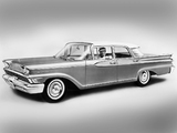 Mercury Monterey 4-door Sedan (58A) 1959 wallpapers