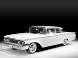 Mercury Monterey 2-door Sedan (64A) 1960 wallpapers