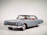 Mercury Monterey 4-door Hardtop (75A) 1962 photos