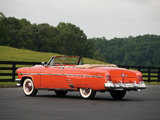 Pictures of Mercury Monterey Convertible (76V) 1954