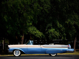 Pictures of Mercury Monterey Convertible (76A) 1958
