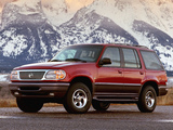 Pictures of Mercury Mountaineer 1997–98