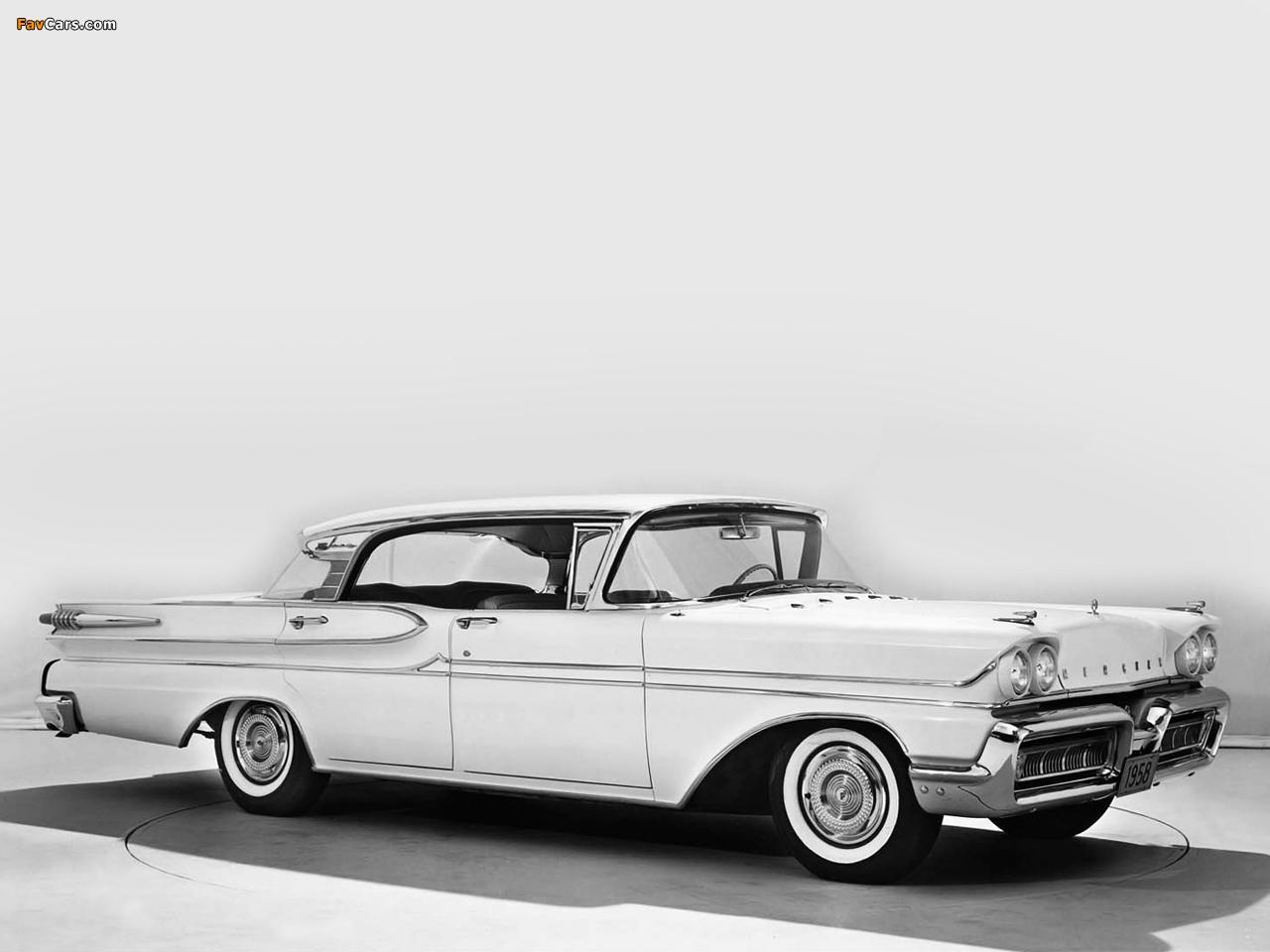 Mercury Park Lane Phaeton Sedan 1958 wallpapers (1280 x 960)