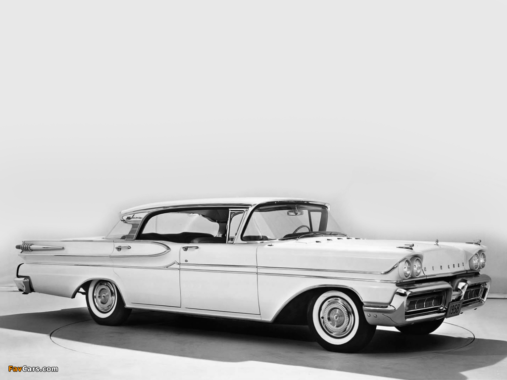 Mercury Park Lane Phaeton Sedan 1958 wallpapers (1024 x 768)