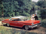 Photos of Mercury Park Lane 4-door Phaeton Hardtop (57C) 1959