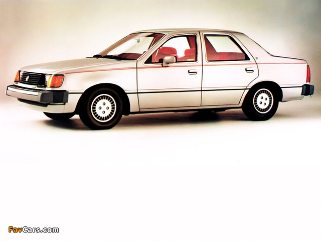Mercury Topaz Sedan 1984 wallpapers (640 x 480)