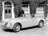 Pictures of MGA 1500 1955–59