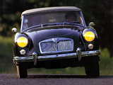 Pictures of MGA 1600 (MkI) 1959–60