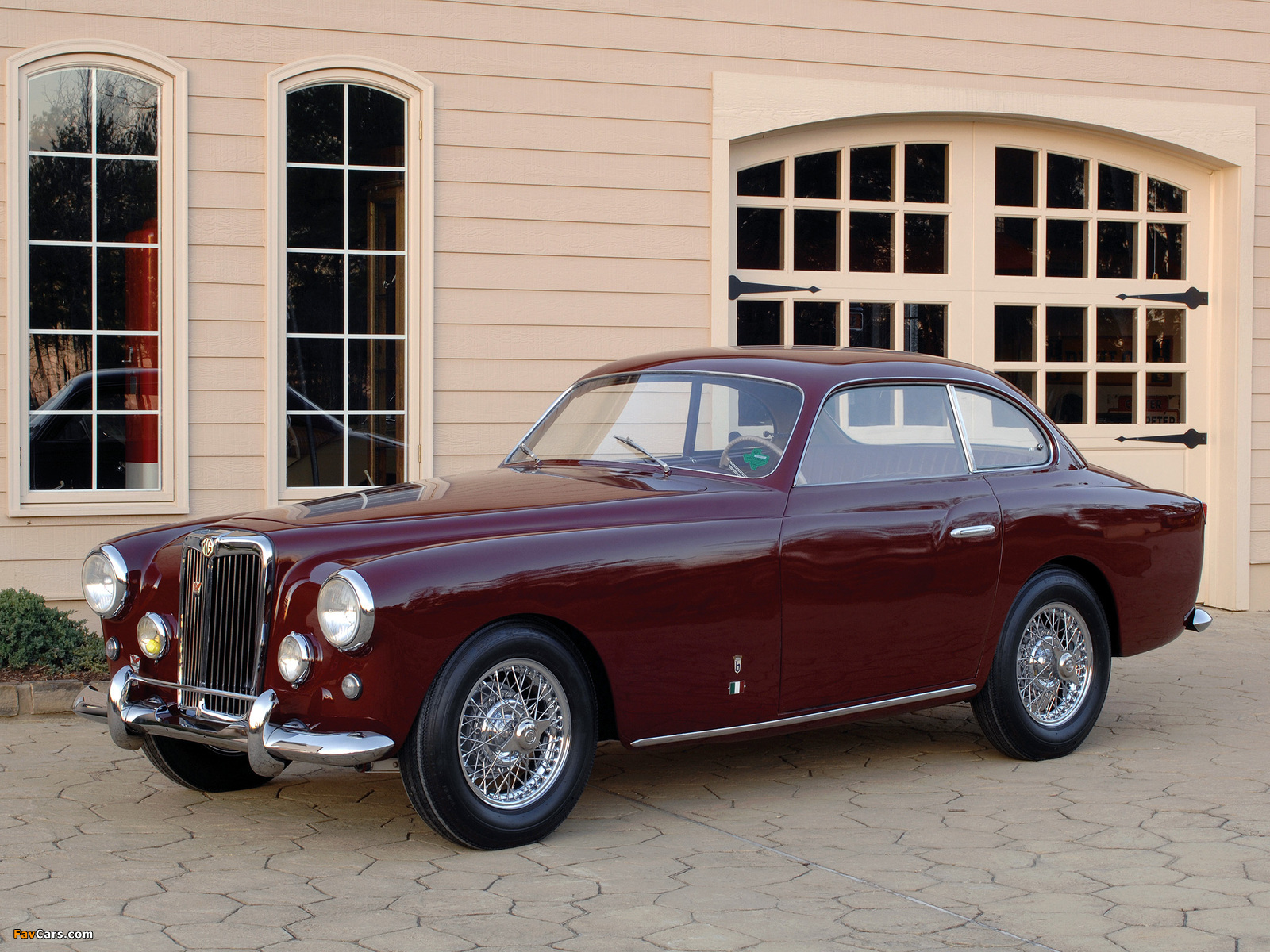 Arnolt-MG Coupe 1953–55 wallpapers (1600 x 1200)
