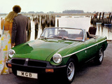 Photos of MGB Roadster 1974–80