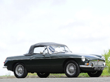 Pictures of MGB Roadster 1962–67