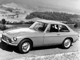 MGC GT EU-spec 1967–69 wallpapers