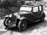 MG KN Magnette Saloon 1932–35 pictures