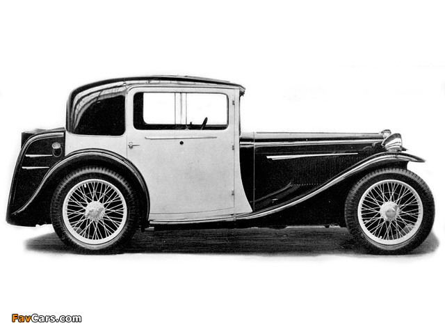 MG L1 Continental Coupe 1934 wallpapers (640 x 480)