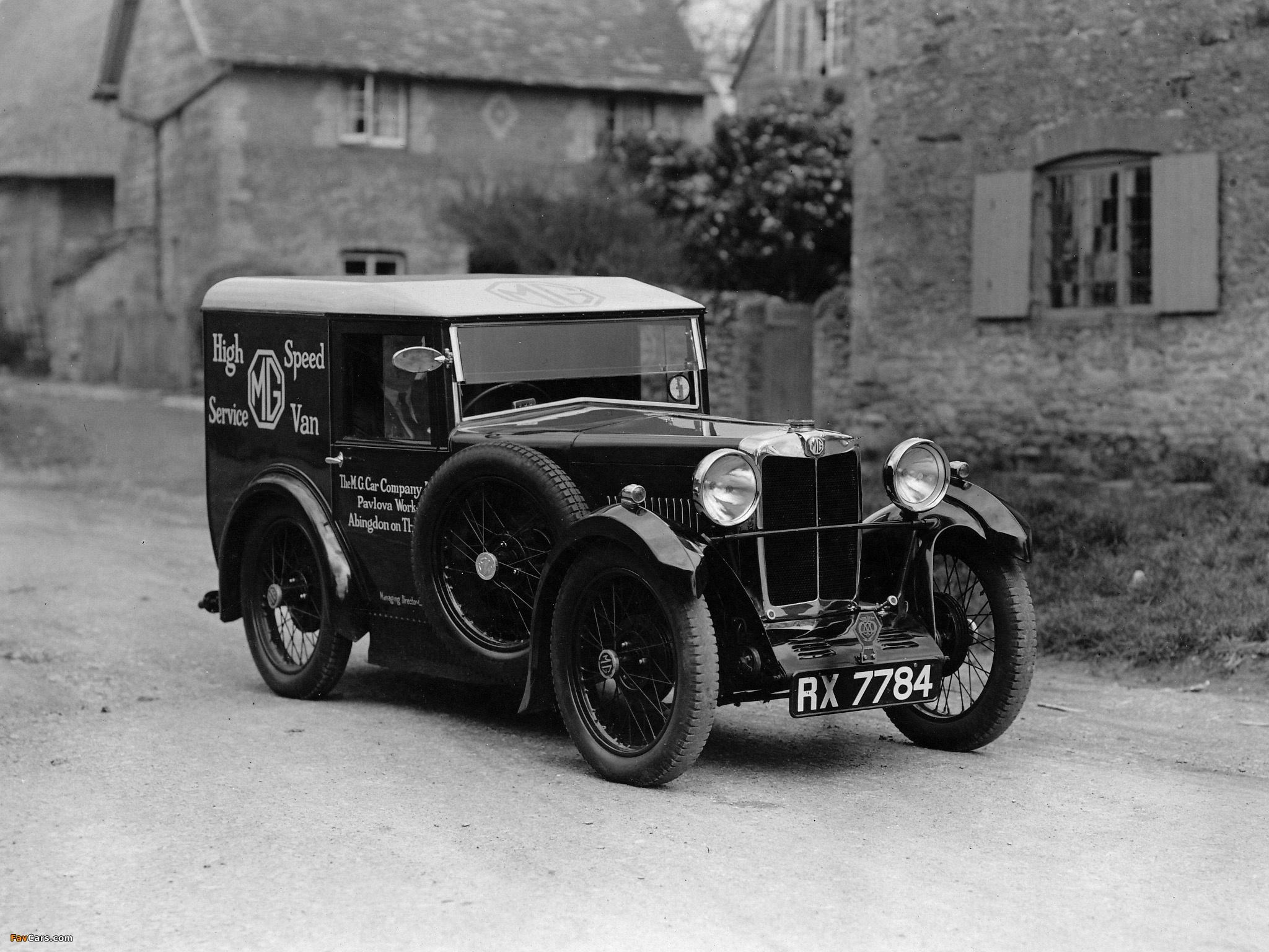 MG M-Type High Speed Service Van 1931 photos (2048 x 1536)