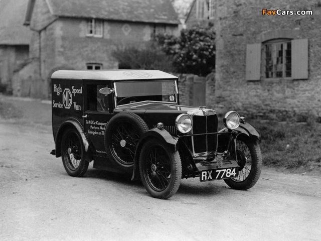 MG M-Type High Speed Service Van 1931 photos (640 x 480)