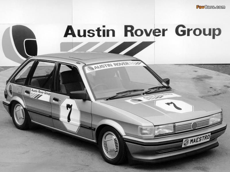 MG Maestro Rallysprint 1983 images (800 x 600)