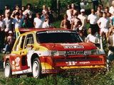 Images of MG Metro 6R4 Group B Rally Car 1985–86
