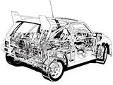 MG Metro 6R4 Group B Rally Car 1984–86 photos