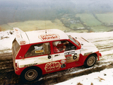 MG Metro 6R4 Group B Rally Car 1985–86 pictures