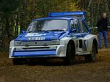 MG Metro 6R4 Group B Rally Car 1985–86 wallpapers