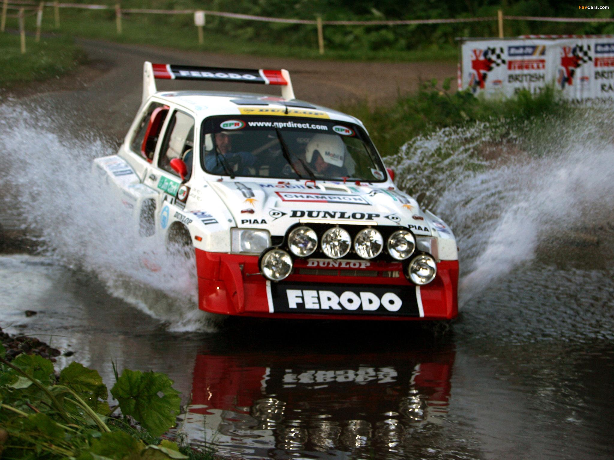 Photos of MG Metro 6R4 Group B Rally Car 1984–86