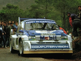 Pictures of MG Metro 6R4 Group B Rally Car 1985–86