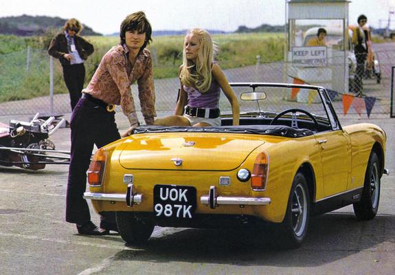 Mg Midget Mkiii 1969 74 Photos