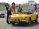 MG Midget (MkIII) 1969–74 photos