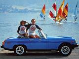 MG Midget 1500 US-spec 1974–80 wallpapers