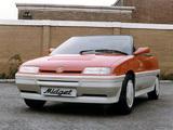 Photos of MG Midget Concept 1983