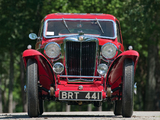 MG NB Magnette Airline Coupe by Allingham 1935 wallpapers